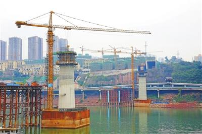 嘉华轨道专用桥进入上部结构施工预计年内实现合龙