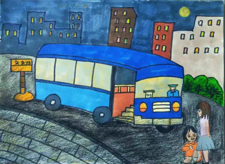 这个中秋节 9岁女孩的一幅画刷爆了公交人(3343499)-20190913122522_副本.jpg