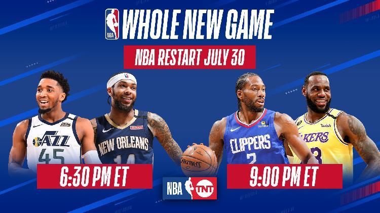 停摆141天后,NBA明日正式复赛,洛杉矶德比9点激情上演