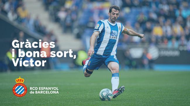 武磊降薪留队,但西班牙人队长维克托·桑切斯却提前解约离队了