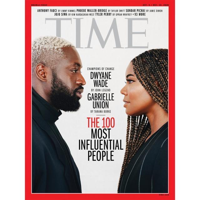 《时代周刊》2020百大人物:韦德夫妇携手字母哥入选