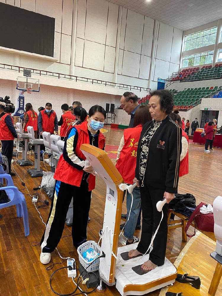 彭水县国民体质监测开启,1天完成114个样本监测