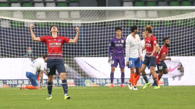 山东鲁能成中超首支3球领先却输球球队