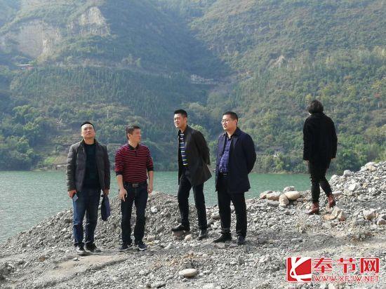 重庆市整治污水偷排偷放行为专项行动组来奉开展检查工作