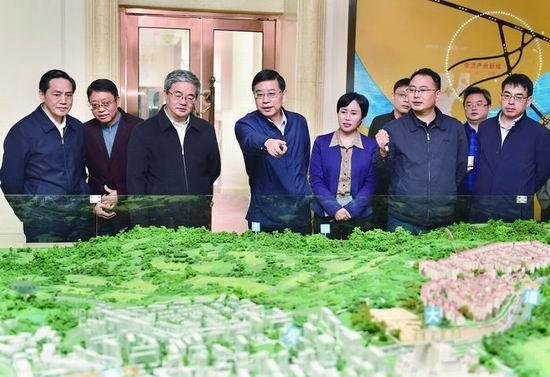涪陵区委书记周少政到江北旅游区调研