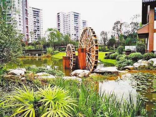 潼南区人民生态公园获可持续城市和人居环境奖