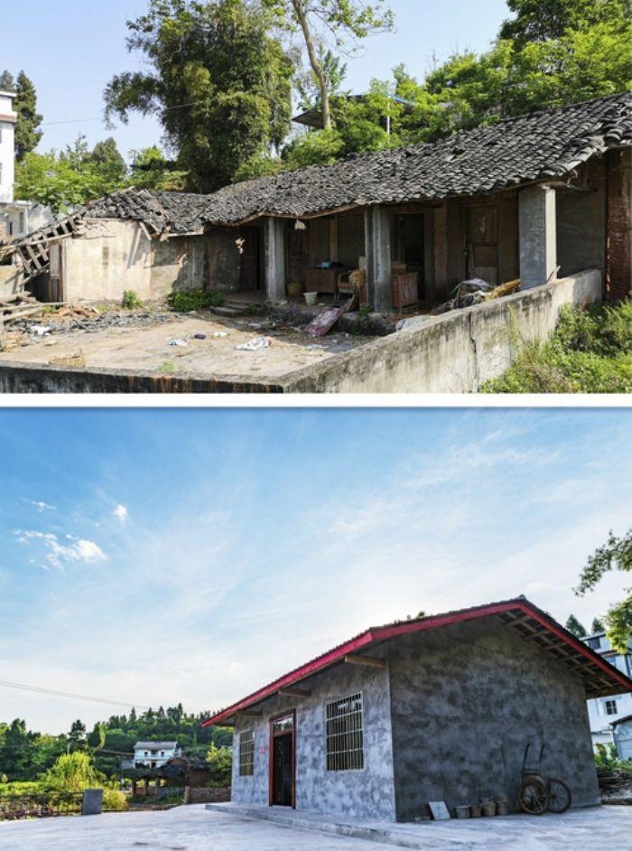 潼南区提前完成今年农村CD级危房改造任务