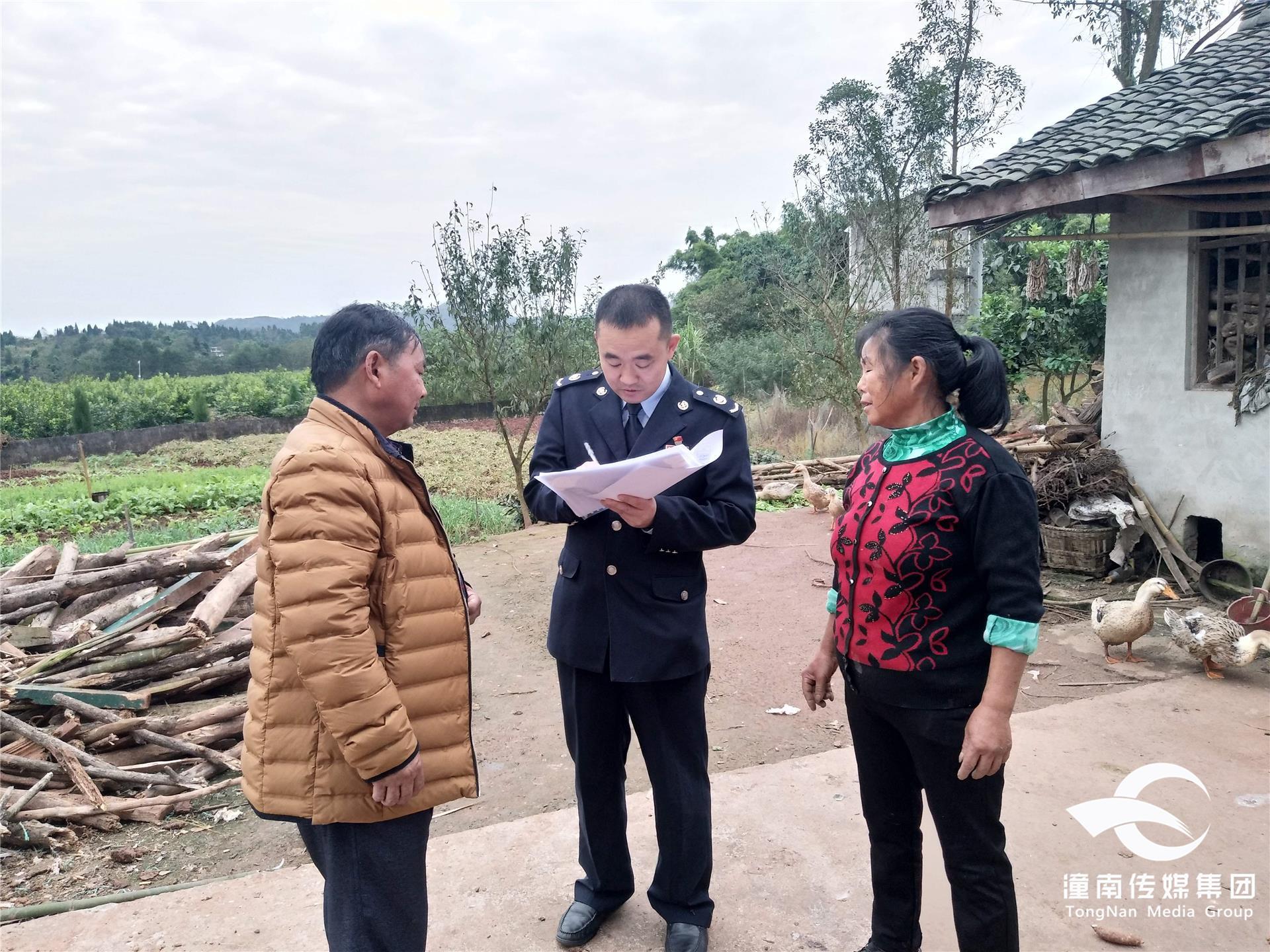 潼南区税务局开展干部走访行动