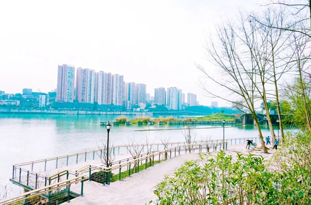 城市让生活更美好,潼南又添三大公园