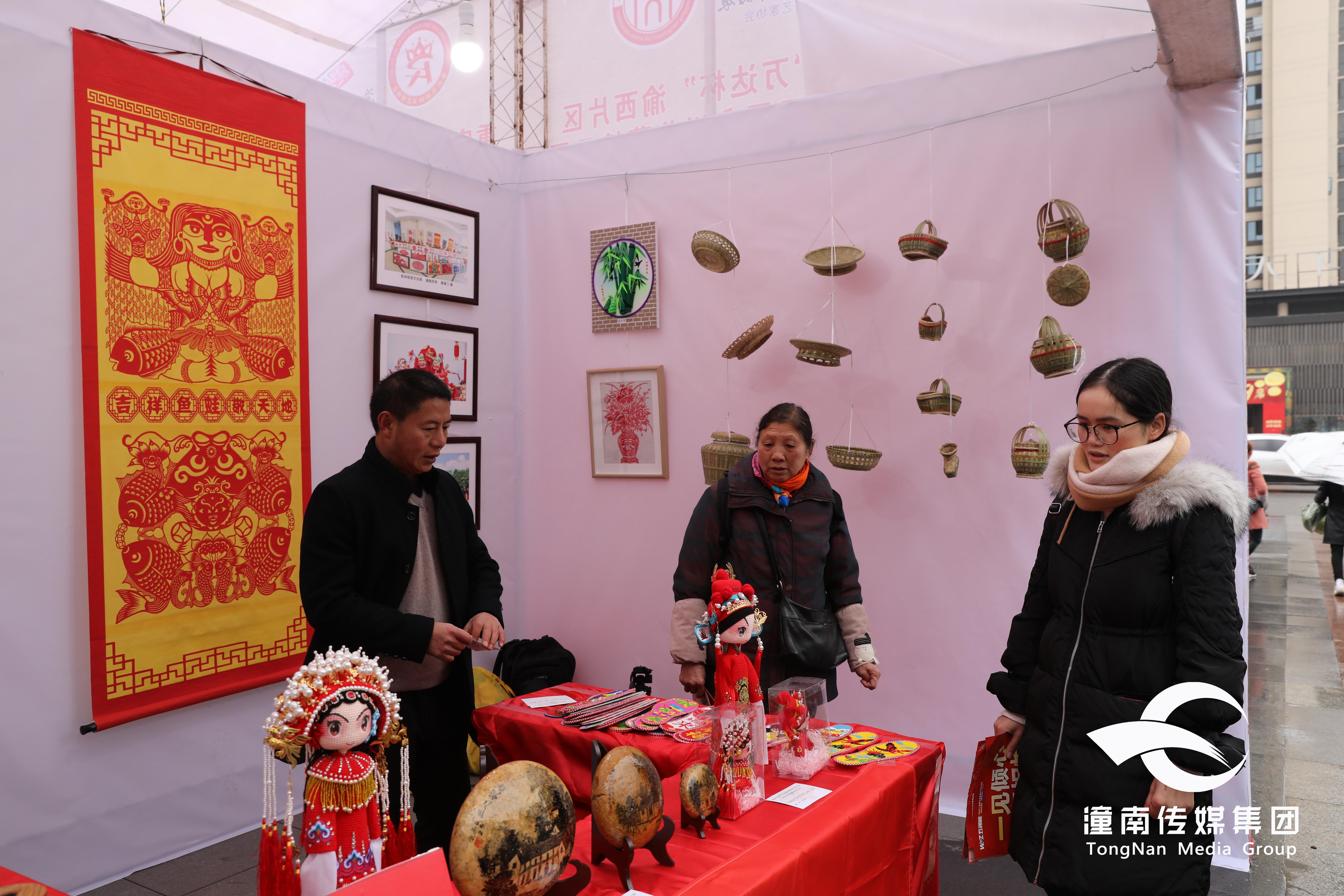 喜讯!潼南民间艺术品在重庆市民间艺术品展会上获奖