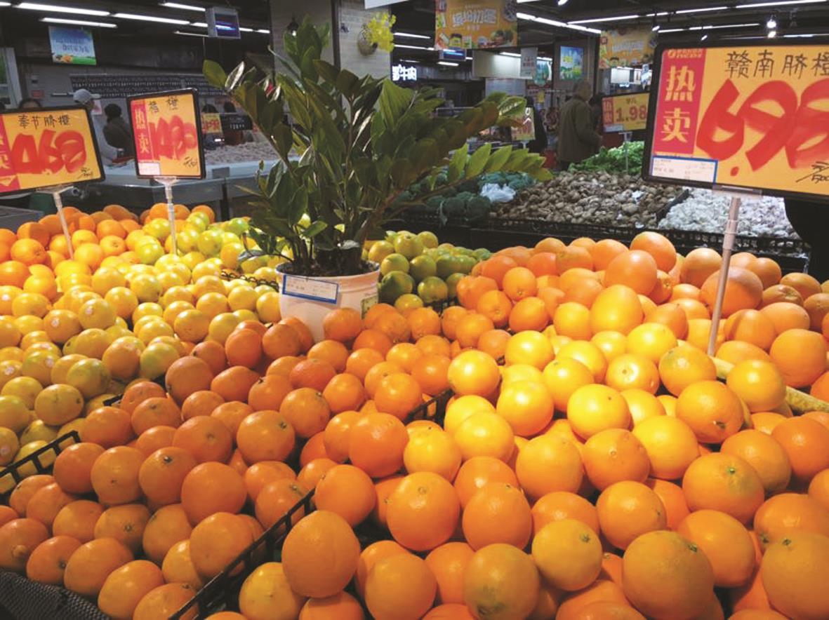 万州:各种柑橘大量上市让你挑花眼