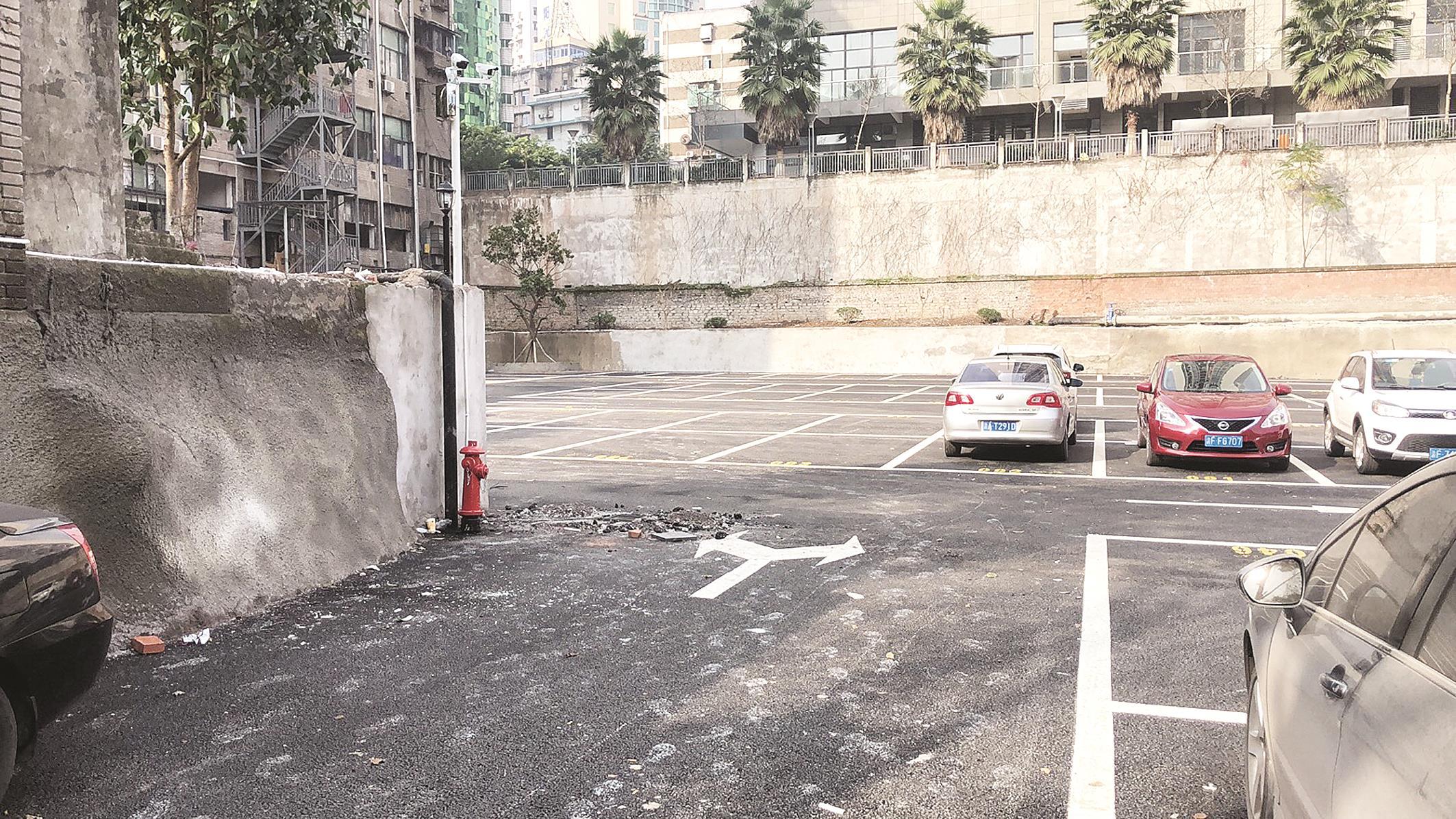 万州王家坡停车场开始试运行