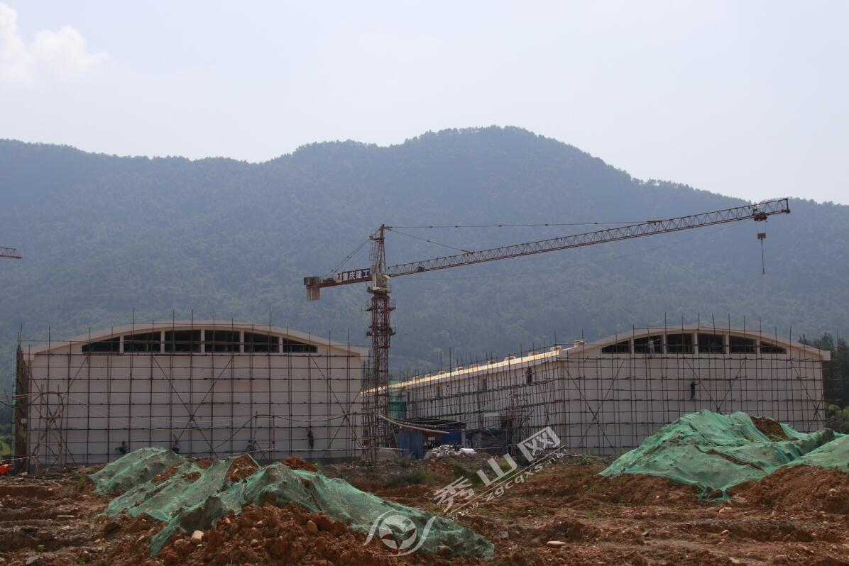 秀山县5万吨粮库迁建工程稳步推进