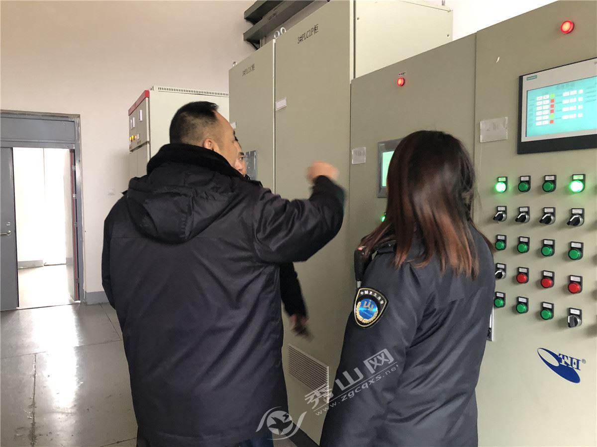 秀山县卫生计生监督执法局开展节前饮用水卫生监督专项检查