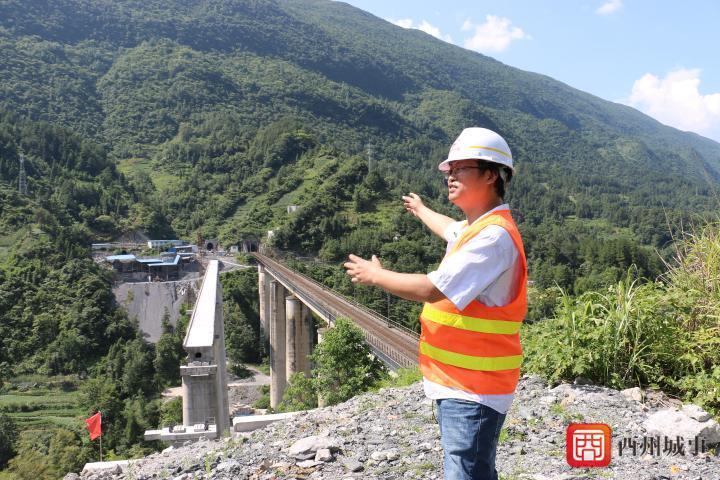 故事酉阳丨圆梁山上的铁路隧道建设者