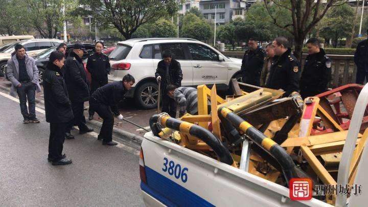 酉阳持续开展汇升广场消防安全专项整治