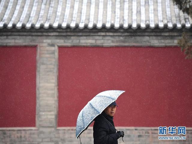 1月3日,游客冒雪在西安大雁塔南广场游览。受强冷空气影响,陕西迎来大范围降雪天气。.jpeg