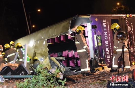 香港巴士侧翻事故司机提堂 控方不排除改控更重罪名