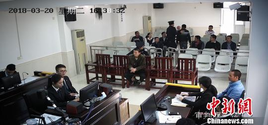 广东汕尾一在逃嫌犯法庭旁听哥哥受审被当场抓获 汕尾中院供图