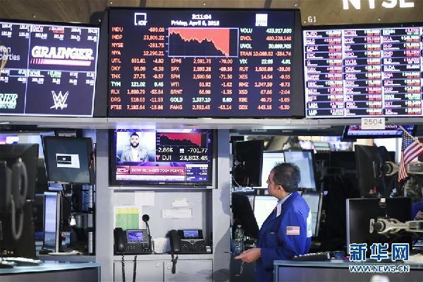(国际)(1)纽约股市三大股指6日收盘下跌