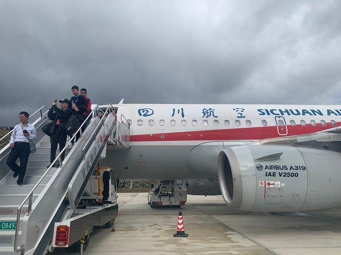 海拔4068米全球排名第五!甘孜格萨尔机场正式通航