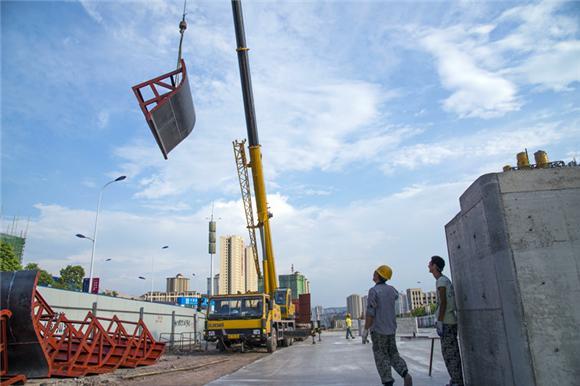 重庆轨道交通5号线江津段预计2019年将建成通车