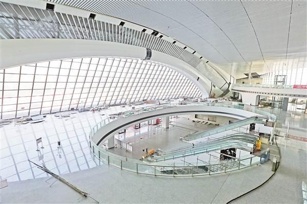 重庆西站站房装修接近尾声 预计年内建成投用