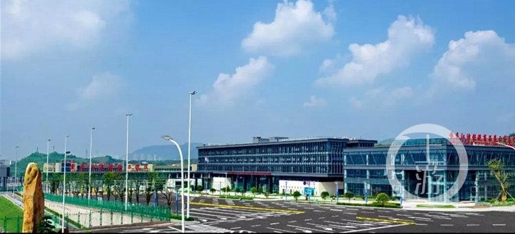 重庆江津珞璜铁路综合物流枢纽有望本月投用