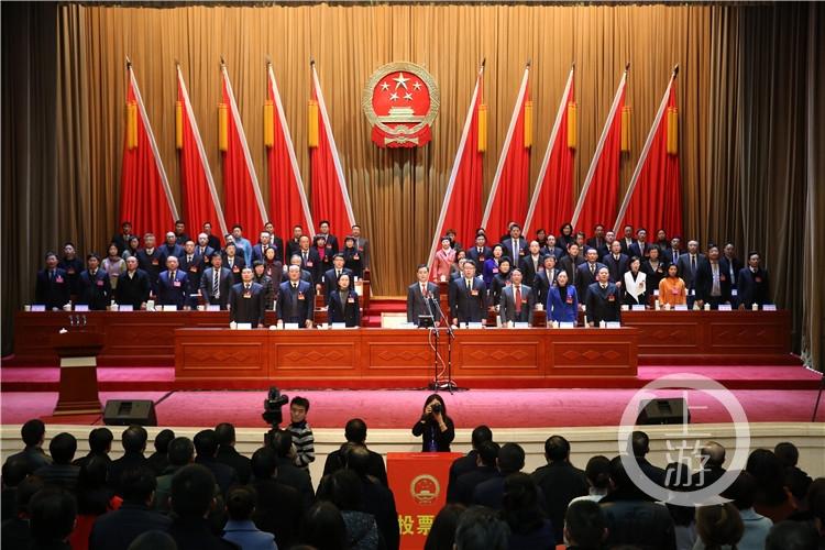 谭庆当选重庆渝北区区长