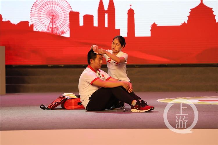 """""""救""""在身边!重庆每年培训红十字救护员超2万名"""