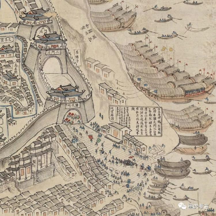 蜀汉时期重庆城的苍龙门在哪里?就在如今的朝天门