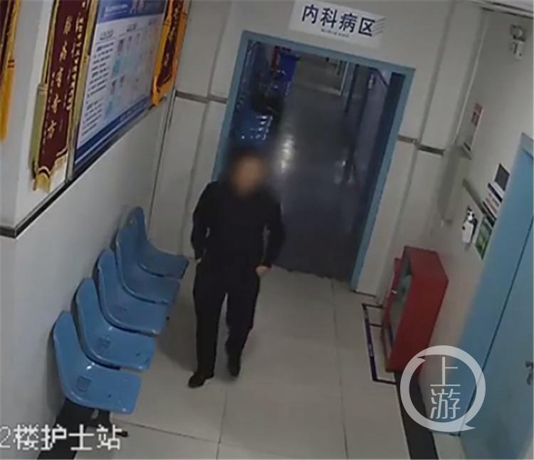 藏身醫院半夜出來偷病人的錢 這位蟊賊你想法有點多