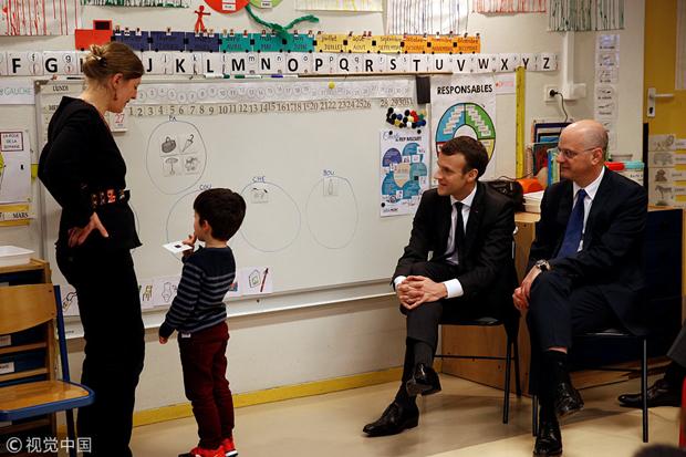 法国教育领域大改革 义务教育将从3岁开始