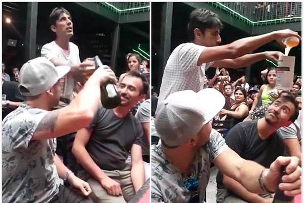 智利一大学生啤酒魔术疯传网络 获数百万人围观