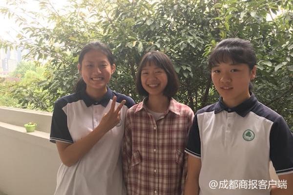 同学中考体考摔倒两女生帮忙 校方:同等条件优先录