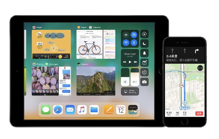 iOS11为iPad带来功能强大的系统更新