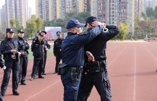 重庆公安开展春季全警大培训