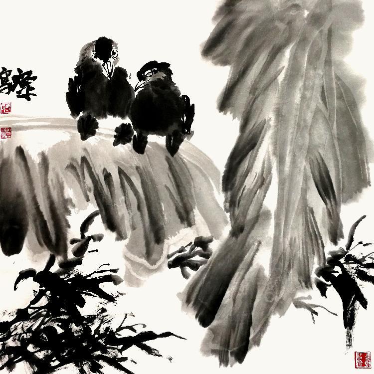 清华美院高研班导师于江平水墨新作赏析