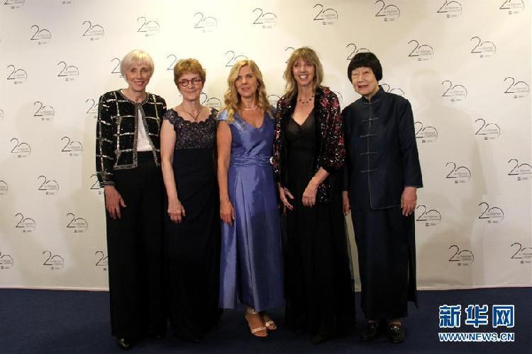 """(国际)(2)中国科学家张弥曼获颁""""世界杰出女科学家奖"""""""