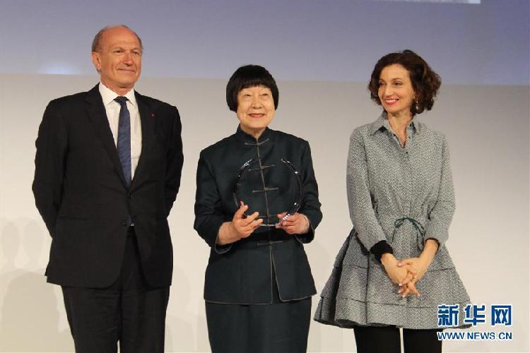 """(国际)(1)中国科学家张弥曼获颁""""世界杰出女科学家奖"""""""
