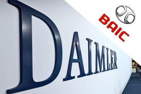 并购合作,电动汽车,戴姆勒收购北汽新能源,戴姆勒中国电动车,戴姆勒北汽合作