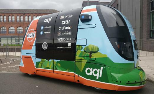 并购合作,黑科技,前瞻技术,Aql利兹市自动驾驶路测,Aql利兹市5G路测,Aql开展POD自动驾驶路测