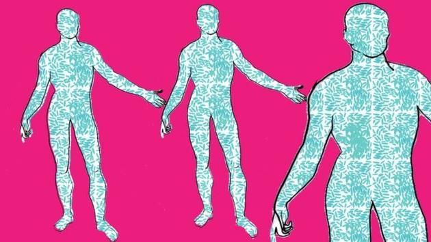 你的身体有超过一半都不是你的