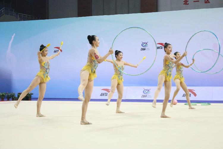 全国艺术体操冠军赛山城落幕,重庆队获七银七铜
