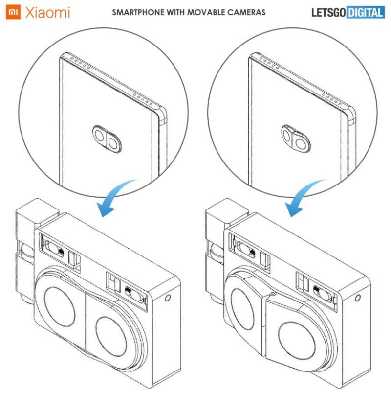 小米科技 外媒曝光:小米新奇想专利让超广角拍摄不失真