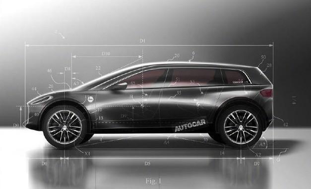 戴森电动车专利图曝光预计2021年上市2021年,你或许可以乘坐戴森电动车了……