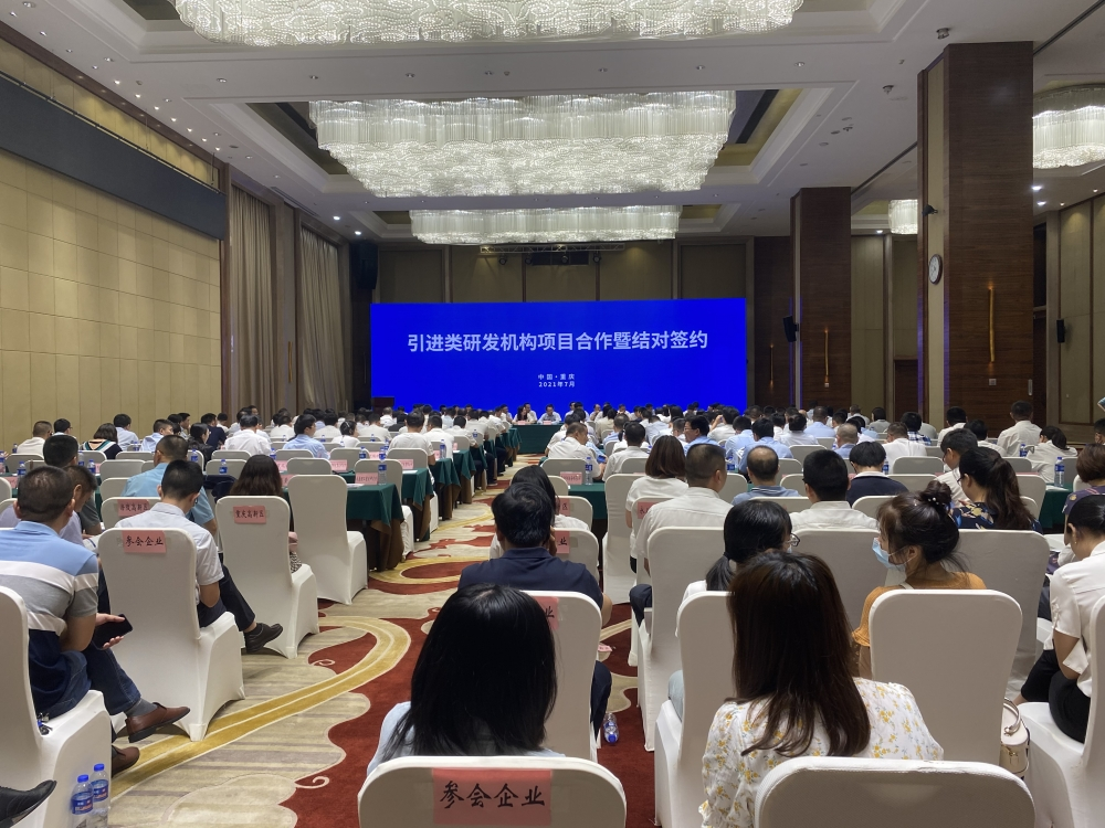 重庆高校和科研机构落地打造平台 科技新成果源源不断