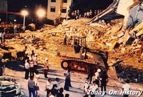 新加坡新世界酒店倒塌