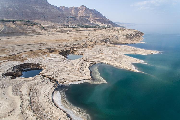 过度人类活动 死海水位不断下降