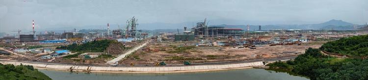 2009年7月8日建设中的重钢长寿新区.jpg